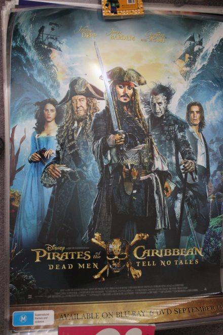 "Pirates Of The Carribean ""Dead men Tell No Tales"""