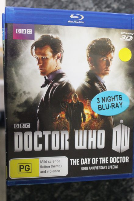 Doctor Who The Day of the Doctor 3D