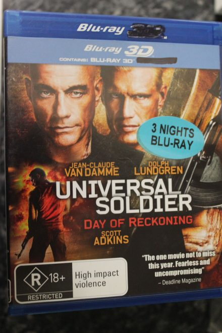 Universal Soldier Day of Reckoning 3D