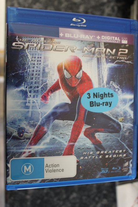 Amazing Spiderman 2 Rise of Electro