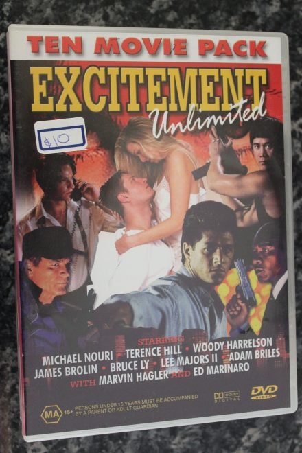 10 Movie Pack Excitement Unlimited