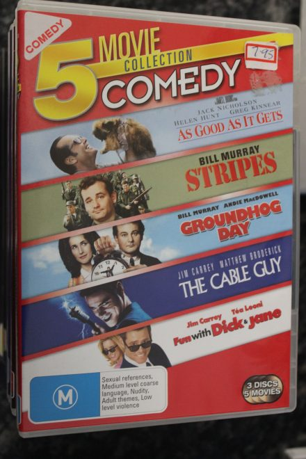 As Good As It Gets / Stripes / Groundhog Day / The Cable Guy / Fun with Dick & Jane