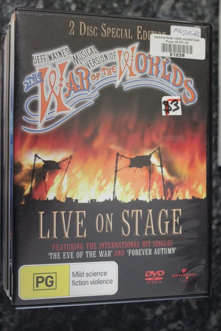 War of the Worlds Musical Live on Stage