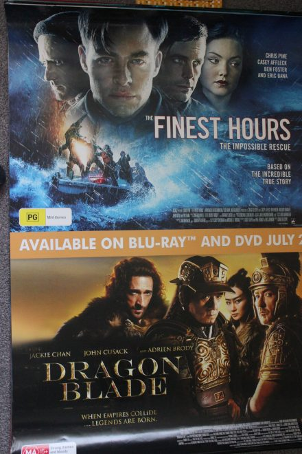 Finest Hours & Dragonblade
