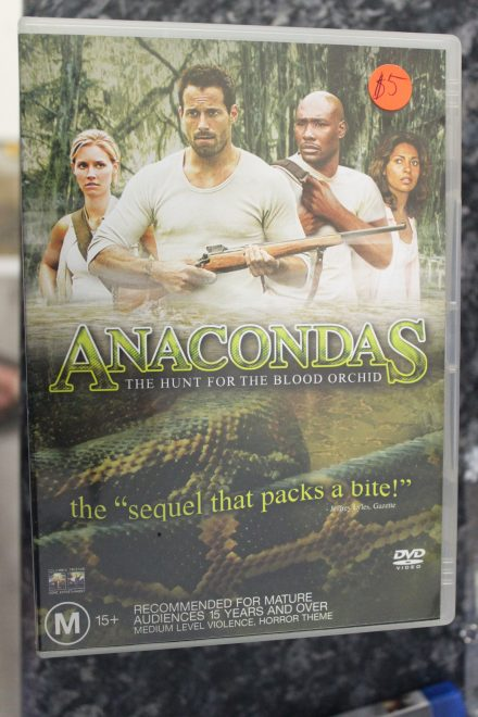 Anacondas Hunt for the Blood Orchid